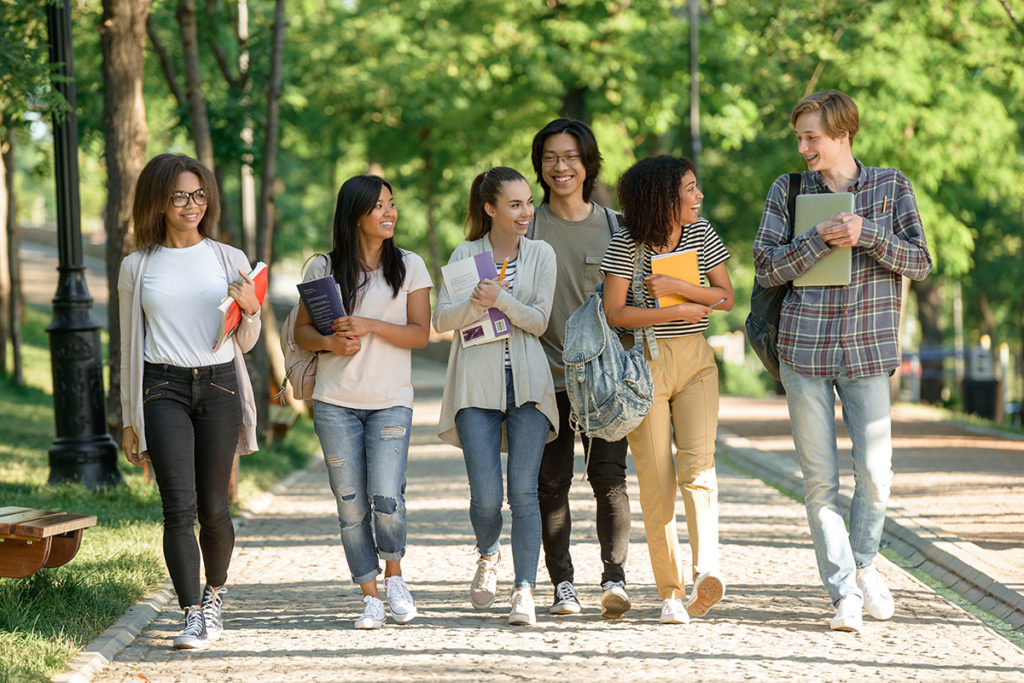 Stock photo of College Students